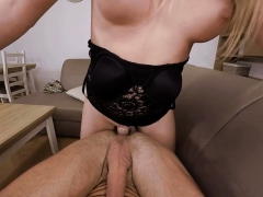 VRBTrans.com Mummy Seducing her friend and pound him rock hard