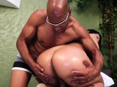 Ebony man fucks transgender princess bbw