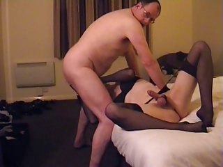 OLD chubby Papa suck Be captivated by assplay OIL cd TV Knavish lingerie