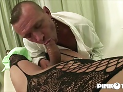Amanda and Raffaella, 2 big dicks for the doctor