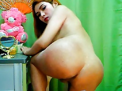 Exotic Japanese Tranny Seduces for a Cocky Experience